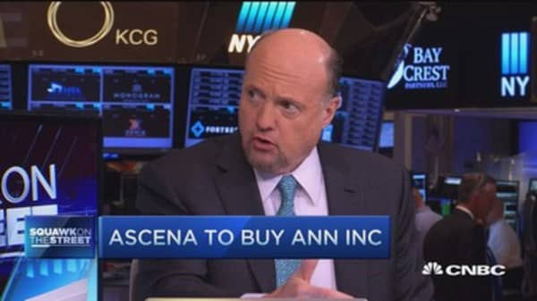 Cramer: Ascena move was necessary