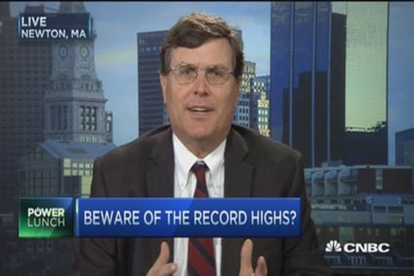 Record highs, red flags