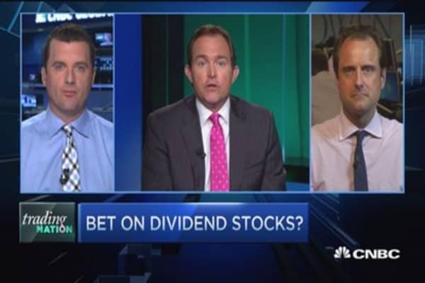 Trading Nation: High-dividend stocks