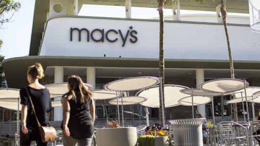 A Macy's department store in Pasadena, California.