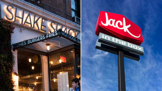 Shake Shack and Jack In The Box