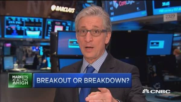 Pisani: Breakout or breakdown?