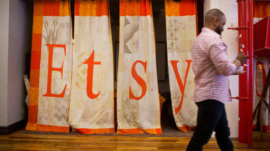 Etsy Cuts Another 15% of Workforce