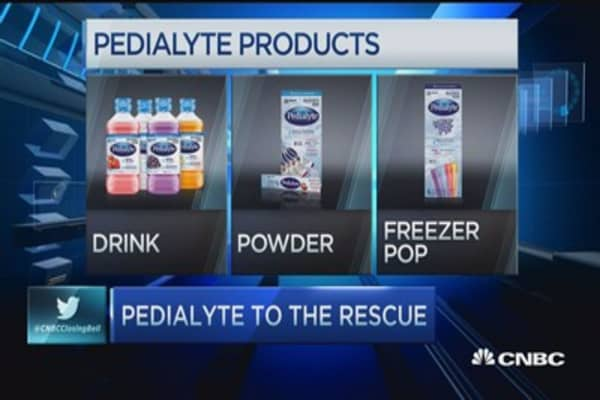 Hangover cure? Pedialyte to the rescue