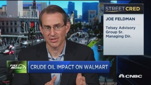 Crude oil's impact on Walmart