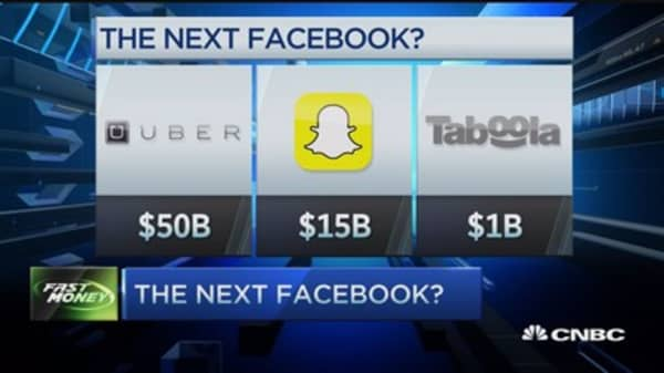 Uber the next Facebook?