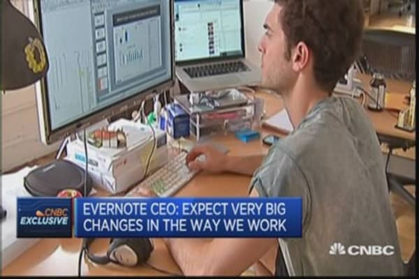 Evernote wants to be a '100-year start-up'