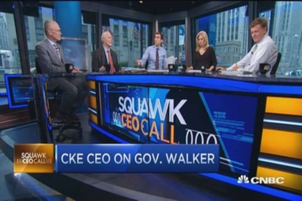 Market should drive wages up: CKE CEO