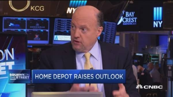 Cramer: People are spending more on homes