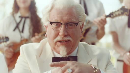 KFC is reintroducing the Colonel played by SNL alum Darrell Hammond as part of a push to emphasize its roots.