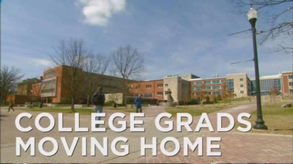 College grads move back home