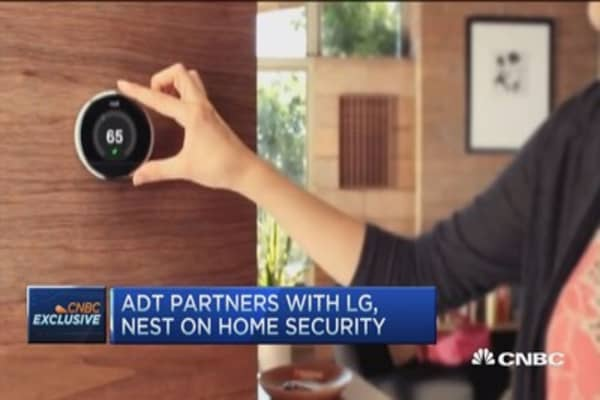 ADT partners with LG & Nest