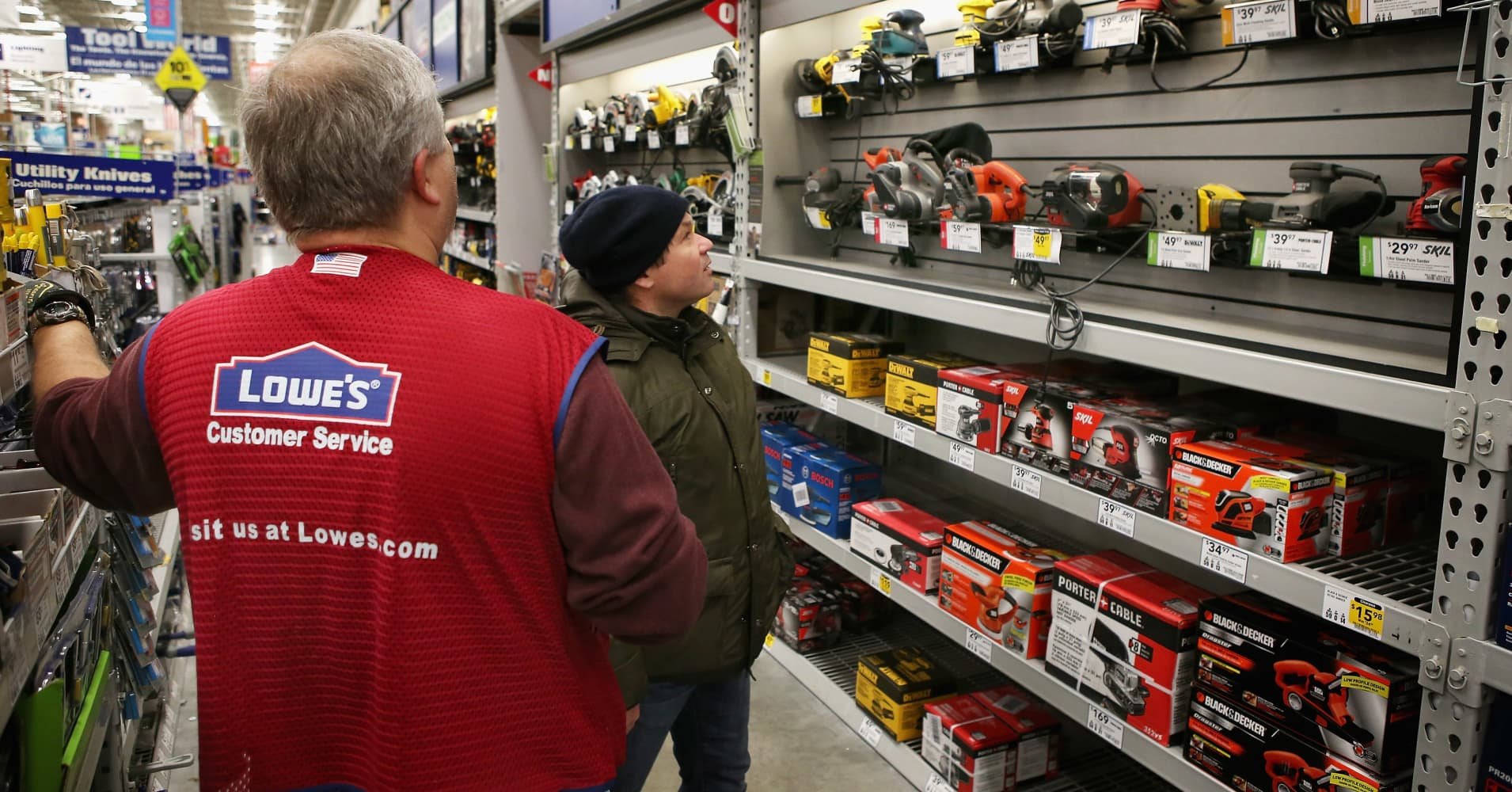 Lowes Stock Quote These 5 Things Are Driving The Surge In Lowe's Stock