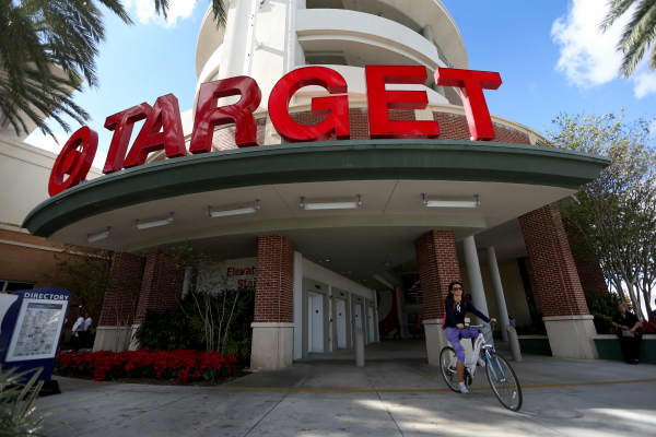 A Target store is seen in Miami.