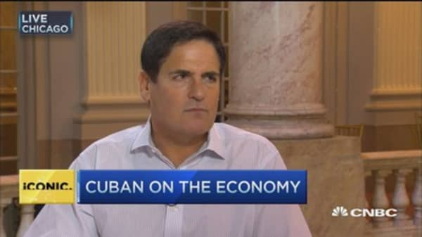 Mark Cuban: GDP data no longer the bible