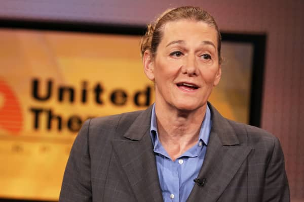 Martine Rothblatt, CEO, United Therapeutics