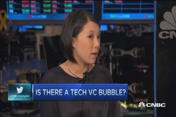 Do VCs see a tech bubble?