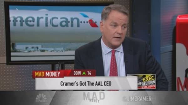 American Airlines CEO: Took my pay in stock