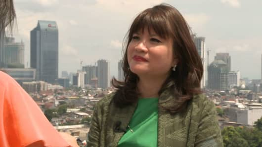 Shinta Widjaja Kamdani, CEO of Sintesa Group.