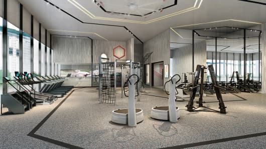 business group photo ideas - Fitness First to launch luxury gym for the C suite execs