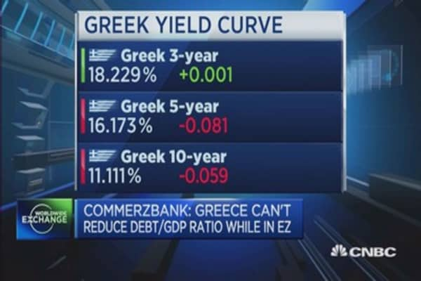 Can Greece reduce its Debt/GDP, whilst in EU?