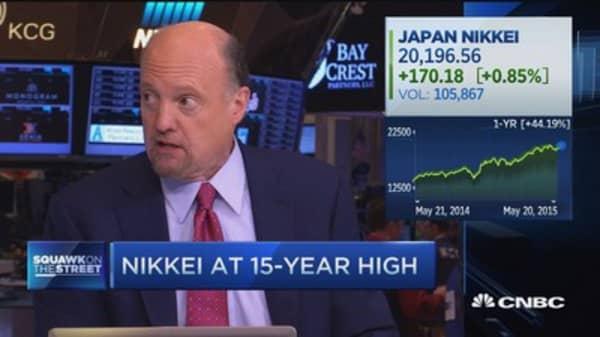Cramer: Japan may be back, but ...