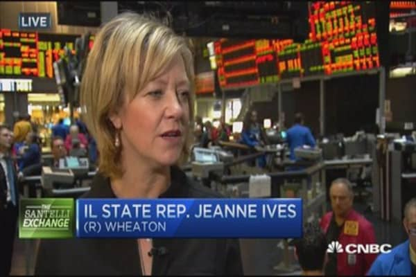 Santelli Exchange: Illinois budget crisis