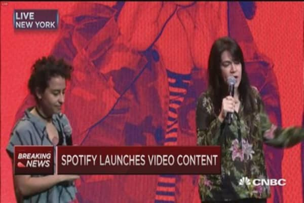 Spotify expands into video content