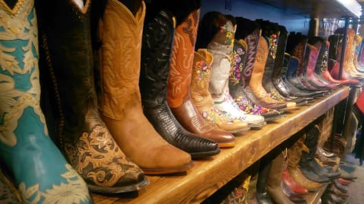 Cowboy boot store uses tech to improve business