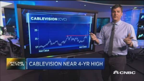 Options Action: Hook up with Cablevision?