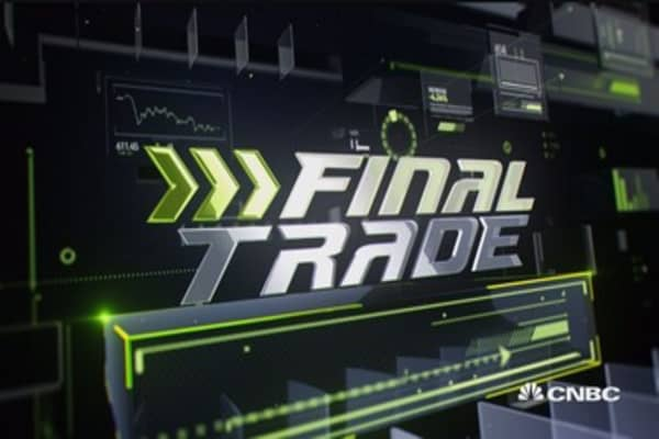 Fast Money Final Trade: YHOO, CRM, MSFT & LB
