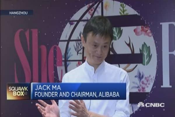 Alibaba's women conf - pkg
