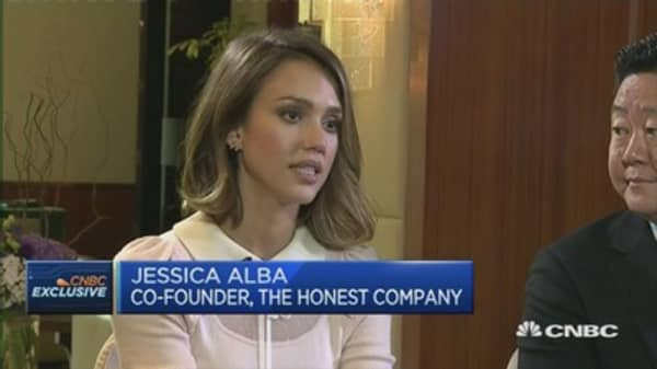 Why Jessica Alba started The Honest Company