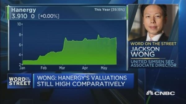 The after-effects of Hanergy's stock collapse