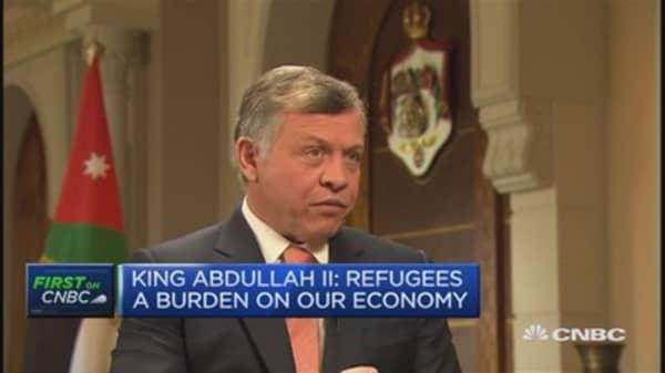 King Abdullah II of Jordan on the refugee crisis