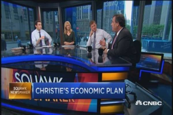 Gov. Christie: Dems won't cut taxes