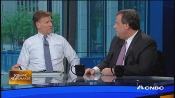Gov. Christie: Absolute media bias