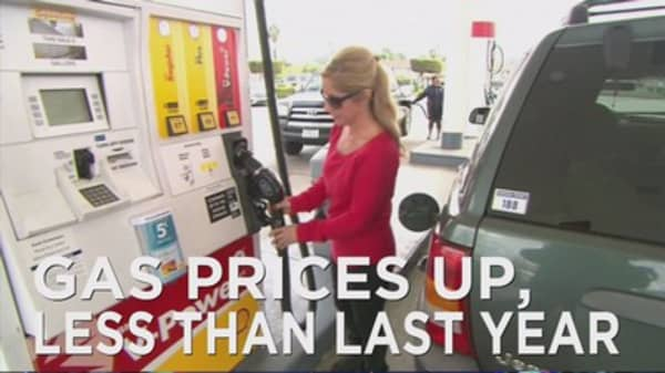 Higher gas prices just in time for Memorial Day