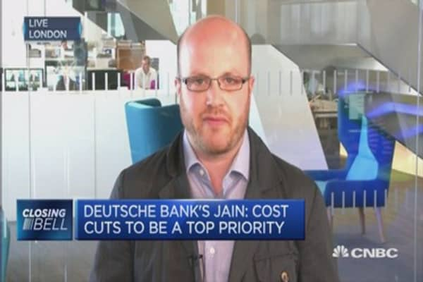 Deutsche Bank's stormy shareholder meeting