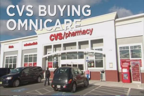 cvs buys omnicare