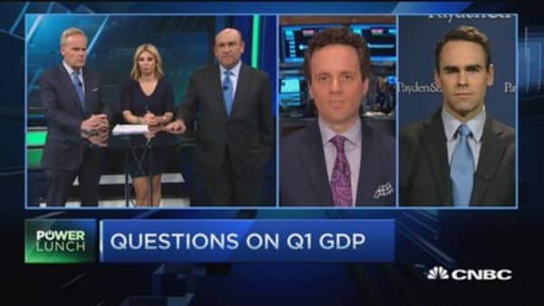 Questions on Q1 GDP