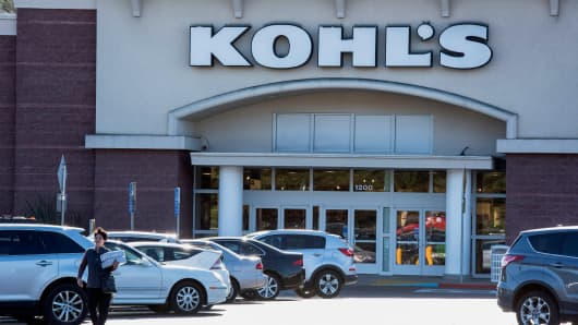 A Kohl's store in Colma, California.