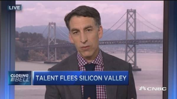 Wealth of Silicon Valley on the move