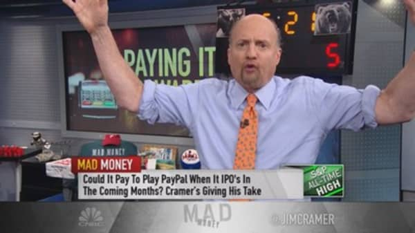 Cramer: Own PayPal post spinoff