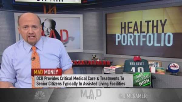 Cramer: You must own drug company or biotech