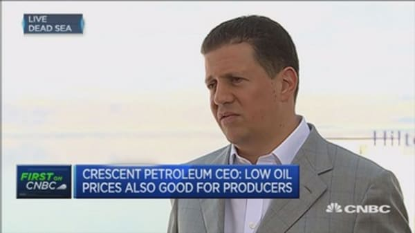 Low oil has been good for Middle East: CEO