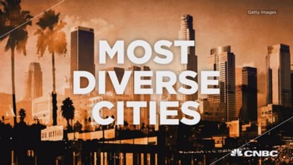 America's most diverse cities