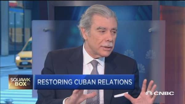 Restoring relations with Cuba