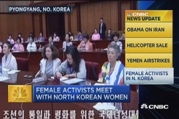 CNBC update: Female activists in N. Korea