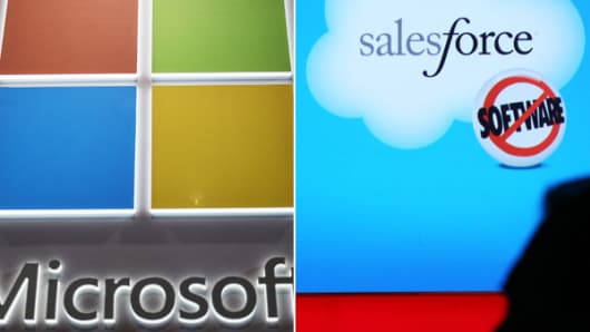 Microsoft and Salesforce